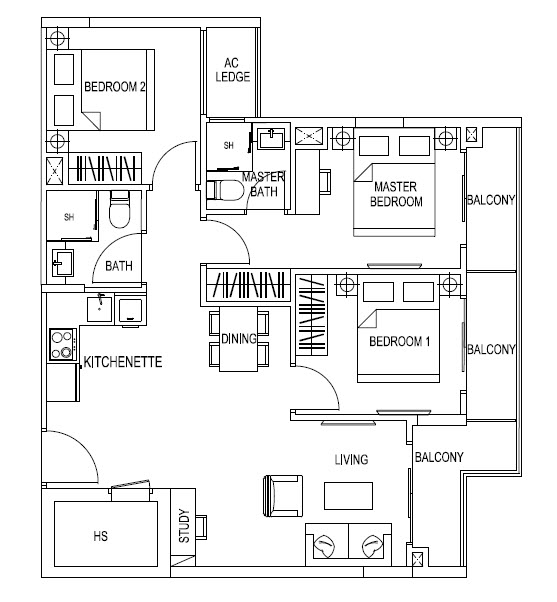 Kensington Square Floor Plans Kensington Square Former